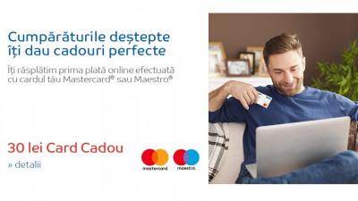 """Mastercard și eMAG încurajează plățile online prin campania """"Cumpărăturile deştepte îţi dau cadouri perfecte"""""""