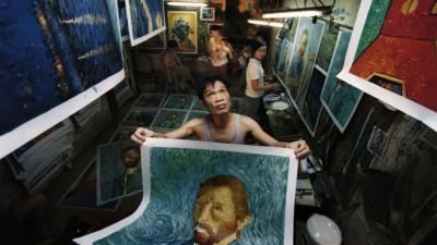 Un Van Gogh made in China la Cinemateca Astra Film