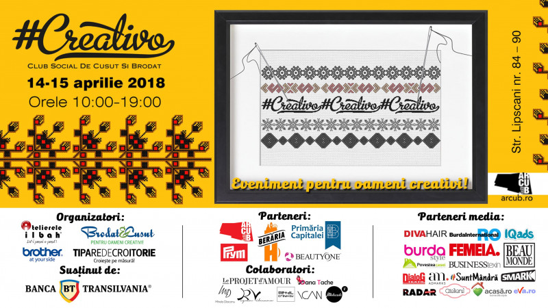 CREATIVO, cel mai mare eveniment dedicat industriei de modă din România, a ajuns la cea de-a 5-a ediție