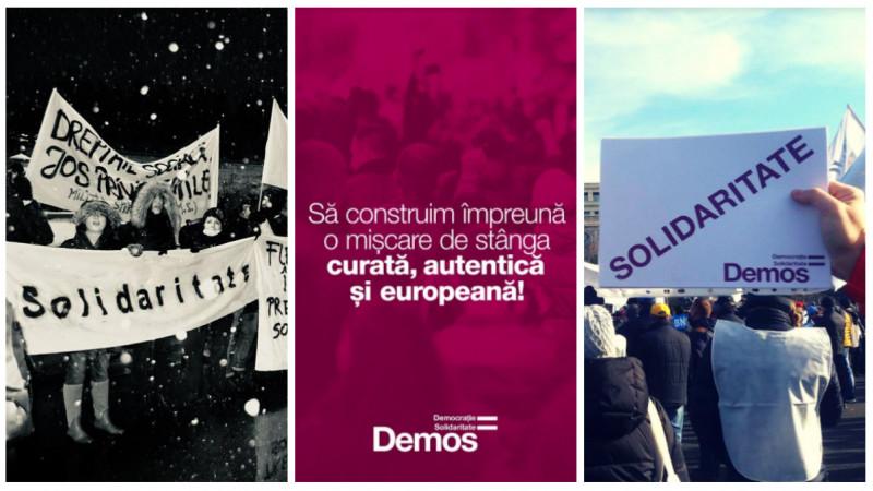 [Comunicare la partid] În această fază, comunicarea viitorului partid Demos este folosită pentru a crea coeziune și identitate de grup
