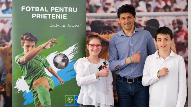 Au fost aleși reprezentanții României în cadrul proiectului Fotbal pentru Prietenie 2018