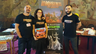 Moonshiners of the Apocalypse, un board game care nu e pentru ofticosi