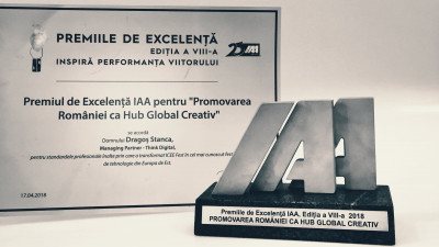 Festivalul iCEE.fest, premiat de IAA pentru promovarea României ca hub global creativ