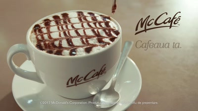 McCafe - Cafeaua ta desavarsita de pasiune