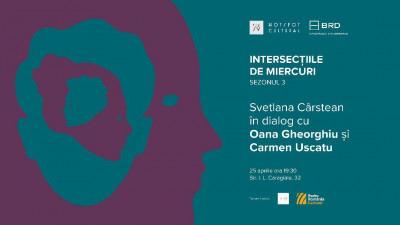 """Cum """"Dăruiești Viață"""", cu invitatele Carmen Uscatu și Oana Gheorghiu, la Rezidența BRD Scena9"""