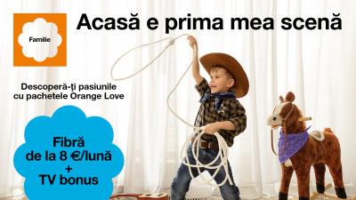 Pentru Orange, primăvara începe cu noua campanie LOVE, realizată de Publicis România