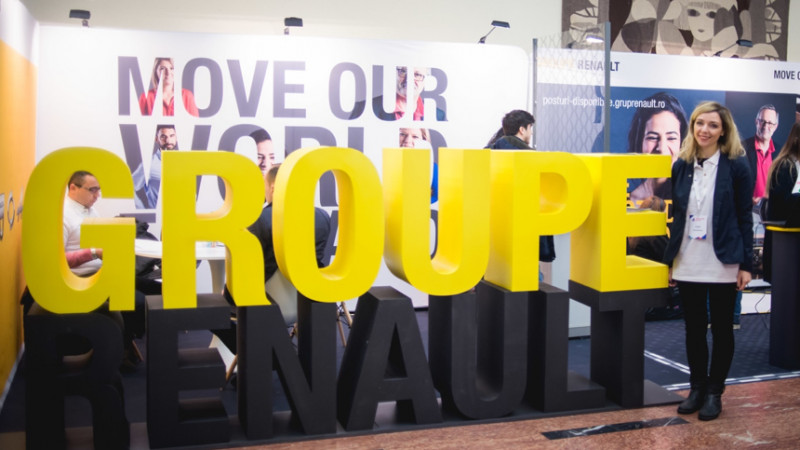 Lemon Studio câștigă pitch-ul Groupe Renault România și construiește conceptul din spatele standului de la Angajatori de Top