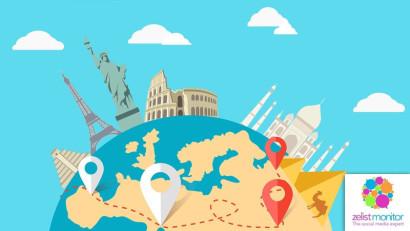 Cele mai vizibile branduri de turism in online si pe Facebook in luna martie 2021