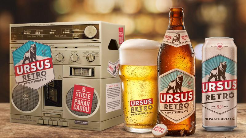 Brand New dezvoltă ambalajele de URSUS Retro