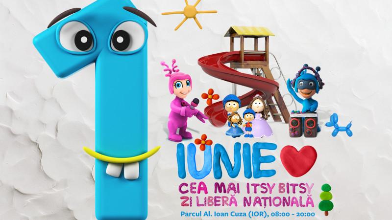 Pe 1 Iunie, copiii au o zi întreagă şi un parc plin de distracţii, cu Itsy Bitsy FM
