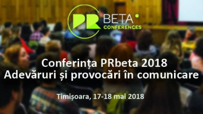 Ministerul Apărării Naționale și Times New Roman la Conferința PRbeta 2018