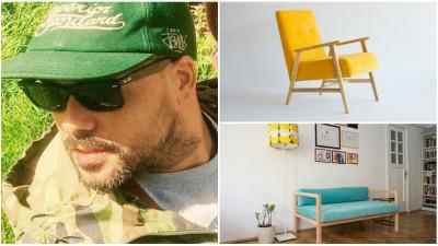 Mustață, un atelier de mobilă foarte românească