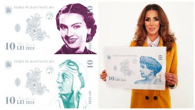 Janina Nectara: Pe banii romanesti apar doar imagini ale barbatilor. Chiar nu s-a gasit nicio romanca suficient de merituoasa pentru a fi celebrata in mod oficial?