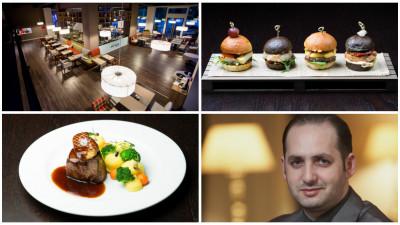[Gustul pasiunii] Adrian Dobrin (Chef Galerie): Am gândit tot proiectul plecând de la ideea de insulă centrală şi show cooking