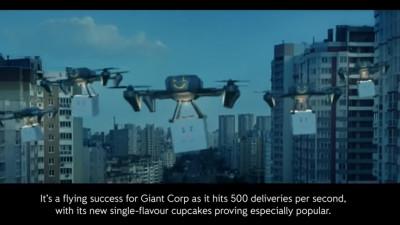 Distopie cu corporații răuvoitoare și afaceri mici