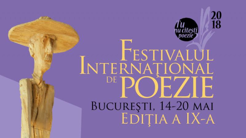 Peste 150 de poeți, din peste 30 de țări, participă în luna mai la Festivalul Internațional de Poezie București