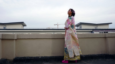 Kimonouri colorate pe muzica lui Aegun