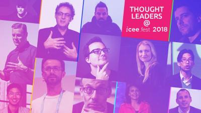 Experți în transformarea digitală, antreprenori de succes pe plan global, autori de filme si cărți cunoscute vor prezenta viziunea lor despre viitorul tehnologiei la iCEE.fest 2018