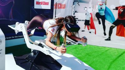 World Class activează super puterea #BeHealthy cu VR Rider la The Color Run – un nou brand story experiențial hitech marca Perceptum