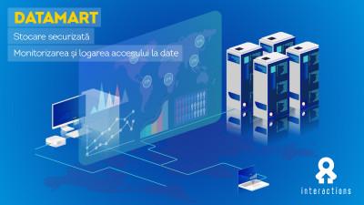 INTERACTIONS oferă DATAMART, o soluție pentru stocarea și accesarea datelor consumatorilor în deplină securitate și conformitate cu solicitările GDPR