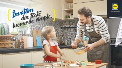 Două premiere în digitalul românesc, cu noua campanie de brand Lidl, 'Învățăm din toate lucrurile simple'