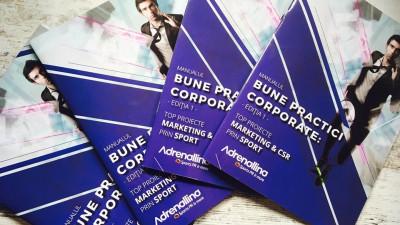Adrenallina Sports PR & more a lansat Manualul Bune practici corporate: top proiecte marketing & CSR prin sport