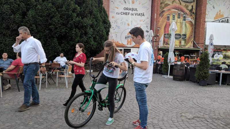 Bicicleta Beată: un proiect cu 100% control și 0% alcool