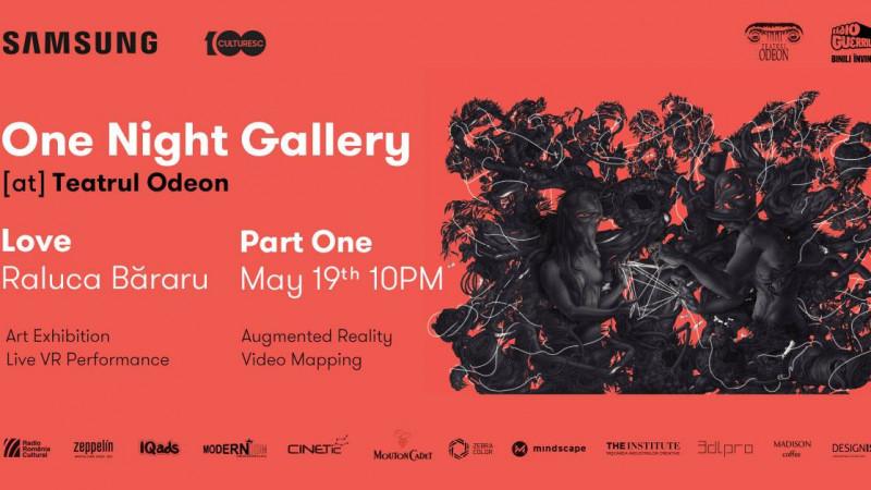 Samsung aduce One Night Gallery la Teatrul Odeon cu un vernisaj şi o experienţă multisenzorială imersivă semnate Raluca Băraru