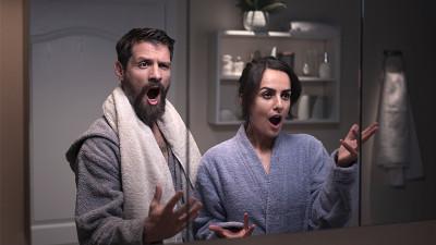 Vitrina semnează campania TV 'Pentru o baie ca o operă de artă, alege Savini Due'