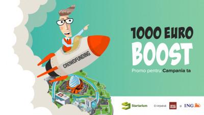 Startarium susține 10 campanii ambițioase de crowdfunding cu mentorat, consultanță și buget de promovare în valoare de 10.000 EUR