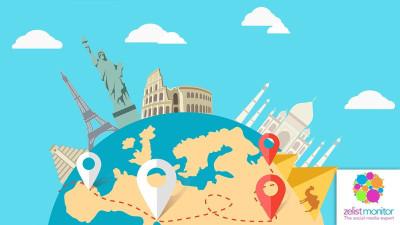 Cele mai vizibile branduri de turism in online si pe Facebook in luna iulie 2018