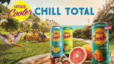 Chill total cu noul URSUS COOLER Red Orange. Primul mix de bere și limonadă cu suc de portocale roșii, fără alcool, din România
