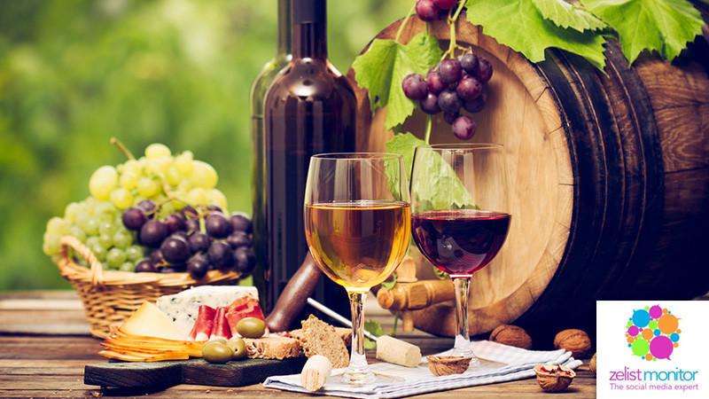 Cele mai vizibile branduri de vin in online si pe Facebook in luna aprilie 2018