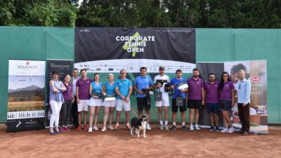Corporate Tennis Open 4: Weekend of the winners