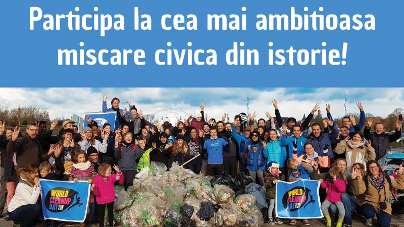 Let`s Do It, Romania! – Pe 15 septembrie 2018 facem curățenie pe toată Planeta într-o singură zi