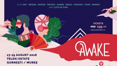 AWAKE Festival anunță lineup final: Morcheeba și Telekom Electronic Beats
