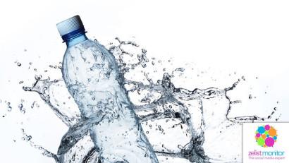 Cele mai vizibile branduri de apa in online si pe Facebook in luna martie 2020