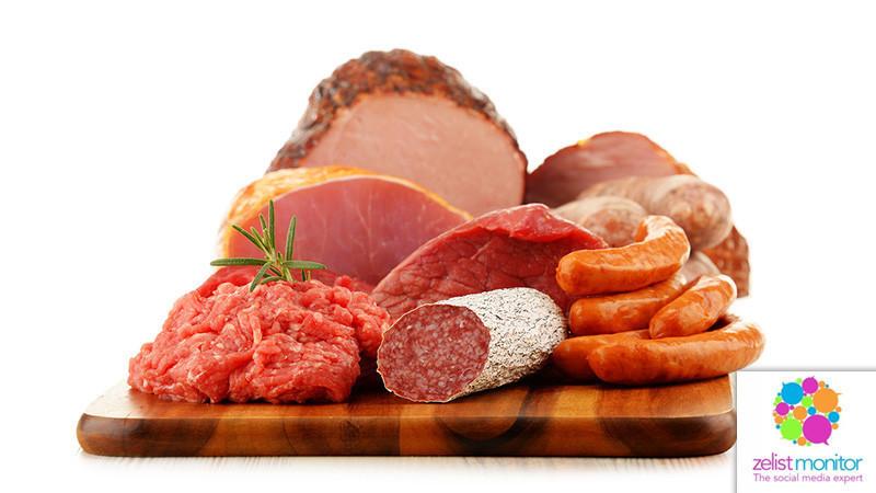 Cele mai vizibile branduri de carne&mezeluri in online si pe Facebook in luna mai 2018