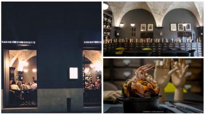 """[Gustul pasiunii] Cabinetul clujean de curiozități culinare. """"Conceptul Cabinet de Vin&Cocotte se bazează pe gătire și servire exclusiv în cocotte, vase din fontă cu smalț foarte rezistent"""""""