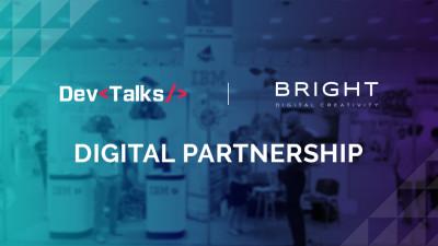 Bright Agency a dezvoltat site-ul pentru cea de-a cincea editie DevTalks