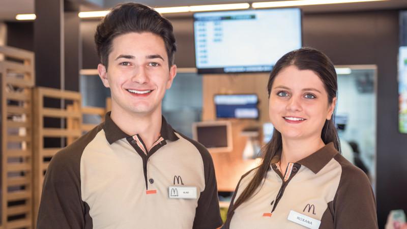 McDonald's lansează o nouă campanie de recrutare și oferă 1.000 de locuri de muncă
