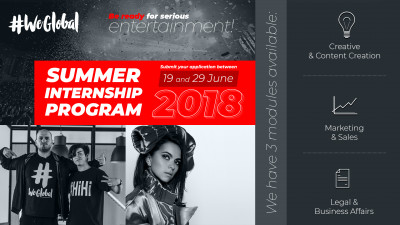Global lansează primul program de internship în entertainment și talent management