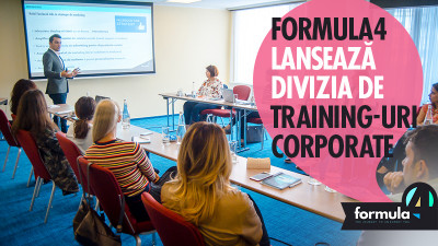 Formula4 – singura școală de marketing online din România care funcționează ca un MBA pentru specializarea în marketing digital – lansează divizia de training-uri corporate