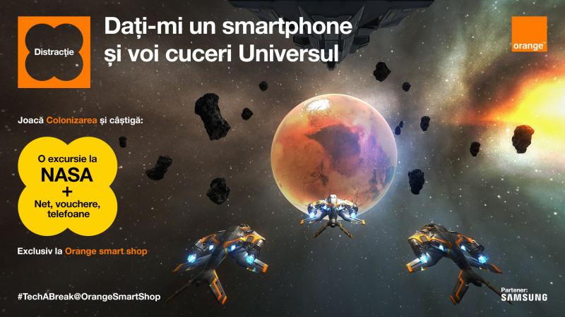 Orange şi Profero fac primii paşi în colonizarea digitală a planetei Marte