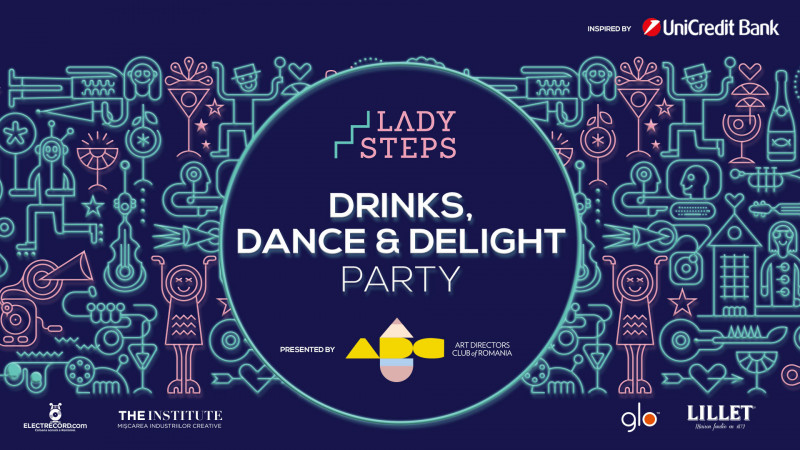 Lady Steps. Drinks, dance and delight party - miercuri, la Institute The Café