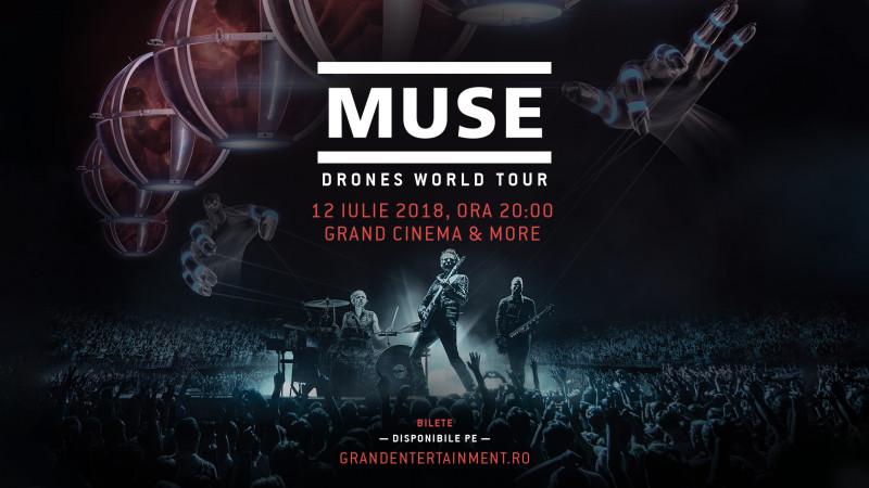 Grand Cinema & More transmite cel mai impresionant turneu al trupei britanice Muse