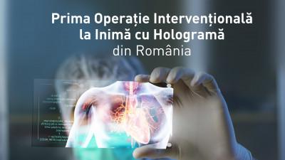 MedLife a transmis prima operație intervențională la inimă cu hologramă din România