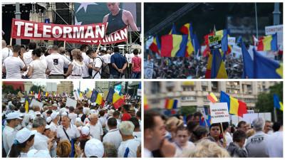 Cum s-au vazut protestele PSD in online? La fel ca-n offline: mult alb, multe peturi