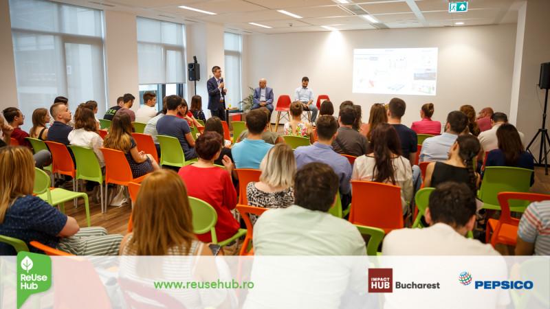 PepsiCo şi Impact Hub Bucharest susțin soluțiile inovatoare din domeniul reciclării prin programul ReUse Hub