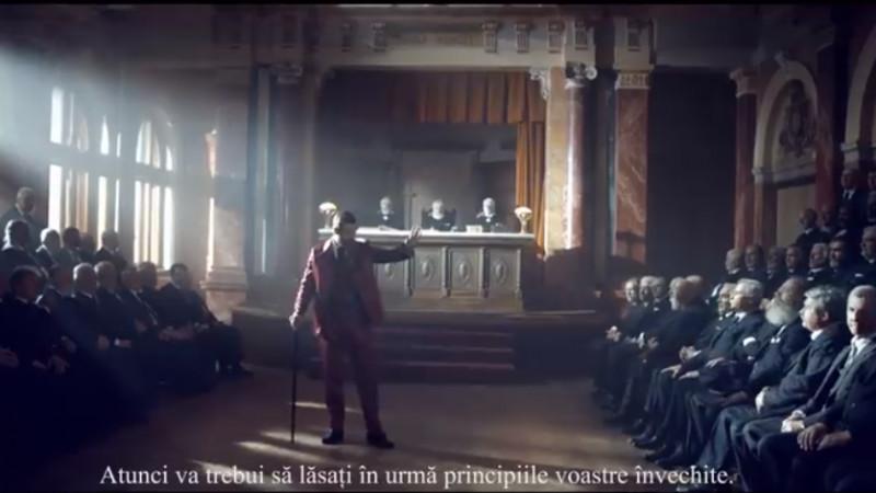 O reclamă foarte serioasă despre România